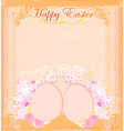Easter Egg On Grunge Background vector image