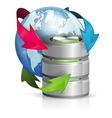 Global Access and Backup Concept vector image vector image