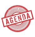agenda stamp rubber grunge