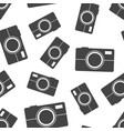 camera icon seamless pattern background business vector image