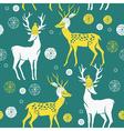 deer print vector image vector image