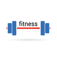 fitness icon vector image