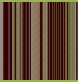 green brown venge striped seamless background vector image vector image