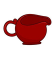 tea kettle isolated vector image