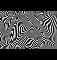 zebra texture vector image vector image