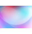 abstract curved colorful background vector image vector image