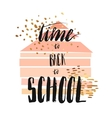 colorful back to school vector image