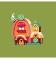 Cute Candy House vector image