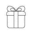 gift box present online order shop icon vector image