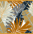 hand drawn abstract tropical summer background vector image vector image