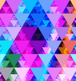Pattern of geometric shapes TrianglesGeometric vector image vector image