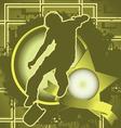 skateboarder vintage design vector image vector image