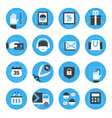 E-commerce and Online Shopping Icons Set vector image