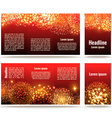 Banner design vector image vector image