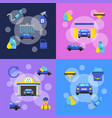banners set concept vector image