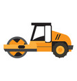 construction vehicle icon vector image