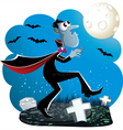 Dracula Cartoon vector image vector image