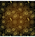 floral seamless vintage pattern vector image vector image