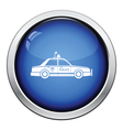 Police car icon vector image vector image