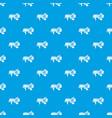 spotlight pattern seamless blue vector image vector image