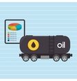 truck petroleum isolated icon design vector image vector image
