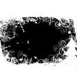winter grunge background vector image vector image