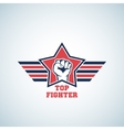 Top Fighter Abstract Sign Symbol Icon or vector image