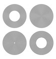 circles design elements vector image vector image