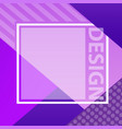 cover with abstract design cool modern gradients vector image