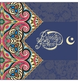 design for holy month muslim community vector image vector image