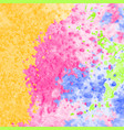 detailed background with watercolor texture vector image