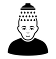 Head Shower Flat Icon vector image vector image