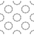 round chain background vector image vector image