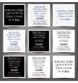 Set of handwritten English alphabets vector image vector image