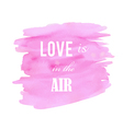 abstract watercolor pink background vector image vector image