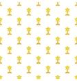 Award star pattern cartoon style vector image vector image