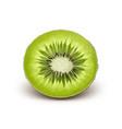 Half cut kiwi