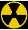Radiation symbol vector image