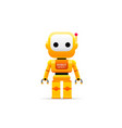 robot vector image vector image