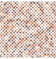 Seamless pattern with rhombuses abstract design vector image