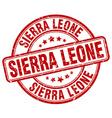 Sierra Leone stamp vector image vector image