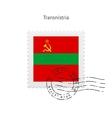 Transnistria Flag Postage Stamp vector image vector image