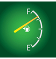 Fuel gage vector