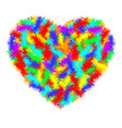 heart icon a real symbol of love for valentine s vector image vector image