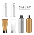 Make-up packaging product vector image