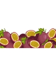 Passion Fruit composition Isolated
