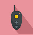 remote controller icon flat style vector image