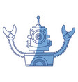 robot funny toy vector image vector image