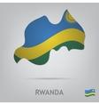 rwanda vector image