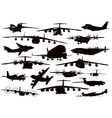 Transport aviation vector image vector image